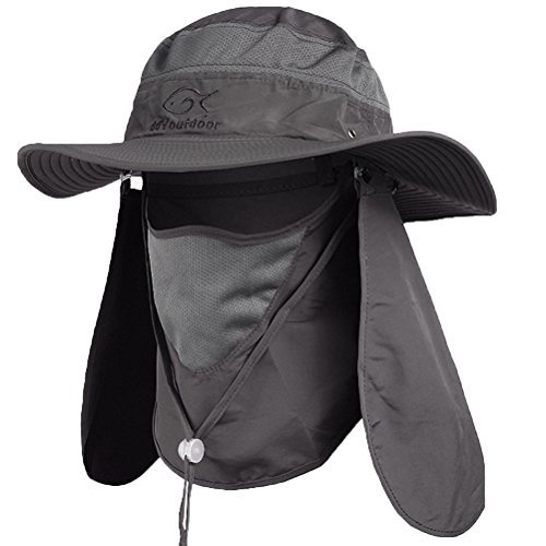 Ddyoutdoor™ 07-281 Fashion Sommer Outdoor-Sonnenschutz Angeln Cap Neck Gesicht Flap Hat