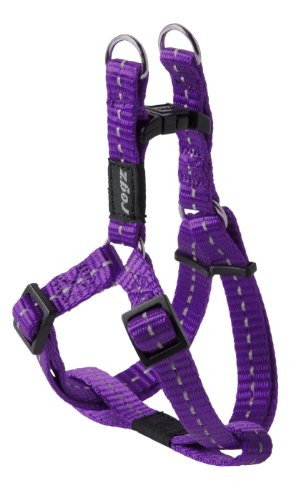 Reflective Step-in Adjustable Harness for Small Dogs; matching collar and lead available