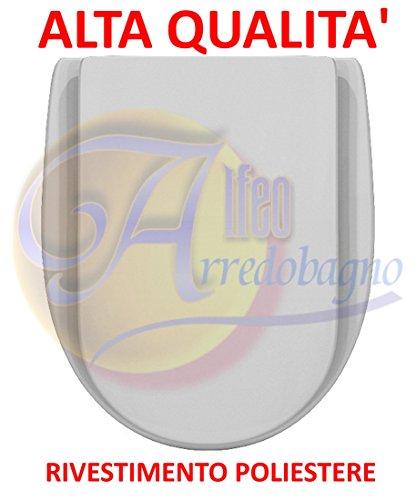 Copriwater ideal standard ala bianco is coprivaso poliestere alta qualita'