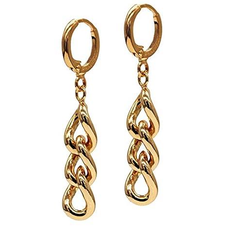 Juvel-Jewelry 18 carats Métal de base plaqué or 18ct