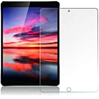 [2 Pack] iPad 6th Generation Screen Protector [ Tempered Glass ] [ Bubble-Free ] [ Anti-Scratch ], Compatible with iPad 5th Generation/iPad Pro 9.7 / iPad Air 2 / iPad Air for Apple iPad 9.7 inch