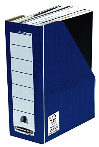 Bankers Box Premium Stehsammler (Fastfold System) 10 Stück blau