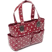 Hobby Gift Bolsa de manualidades de Lunares en Rojo