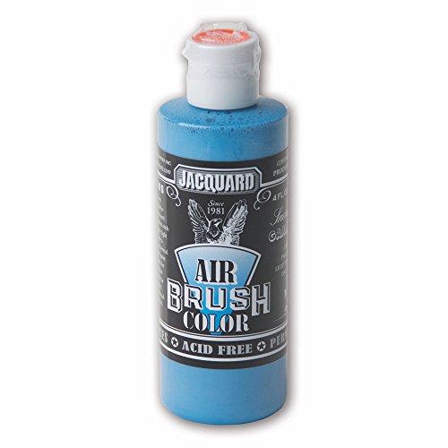 Sneaker Series Airbrush Color by Jacquard, Artist-grade Fluid Acrylic Paint, Use on Multiple Surfaces, 4 Fluid Ounces, Gamma Blue