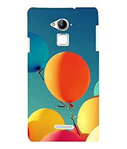 printtech Carnival Balloon Back Case Cover for COOLPAD NOTE 3 / COOLPAD NOTE 3 PLUS