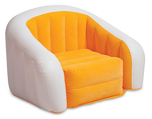 Intex Orange Inflatable Cafe Club Chair  available at amazon for Rs.6709