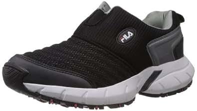 Fila Men's Smash III Black Mesh Multisport Training Shoes -10 UK/India (44 EU)