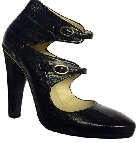 Jimmy Choo - Zapatos Vestir Piel Mujer Negro Negro