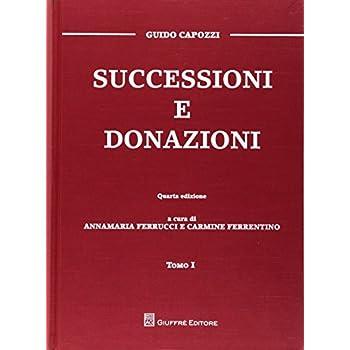 Successioni E Donazioni (2 Tomi)