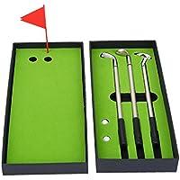 Conjunto de Bolígrafo de Golf Juego de Pelotas de Golf Mini Juego de Golf de Escritorio