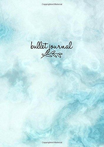 Bullet Journal: Marble Blue Notizbuch A5 Dotted: Bullet Journal Deutsch, Punktraster Notizbuch A5, Agenda Buch, Design Buch, Planer, Arbeitsbuch, ... Buch, ... 120 Seiten (Punktpapier): Volume 6 por Bullet Journal Ink