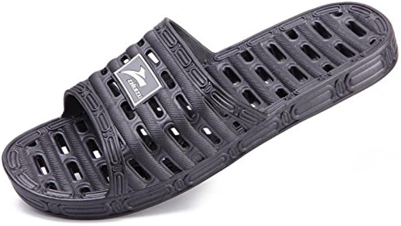 Permeables exponen zapatillas de baño antideslizante interior doméstico de agua en verano ducha género home parejas...