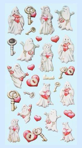 Creapop Sticker Softysticker * Lustige Gespenster - Geist - Halloween * Aufkleber - Halloween Lustig