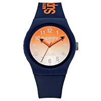 Superdry Unisex Analogue Quartz Watch with Silicone Strap SYG198UO