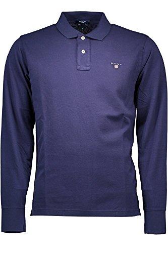 GANT Herren Poloshirt The Original Pique Rugger Regular Fit BLU 409