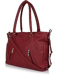 SALEBOX Fashion Women's Handbag/Shoulder Bag/College Casual Maroon