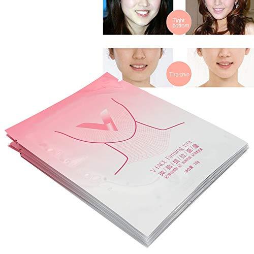 Masque en forme de V, double masque de menton, double masque de menton pour le visage et la ligne du menton, masque de beauté pour massage de réparation de la peau pour femmes
