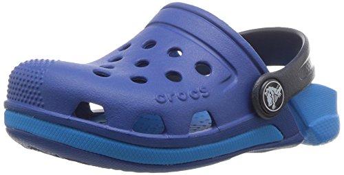 Crocs Electro III Clog Kids, Unisex - Kinder Clogs, Blau (Blue Jean/ocean), 27/28 EU27/28 EU