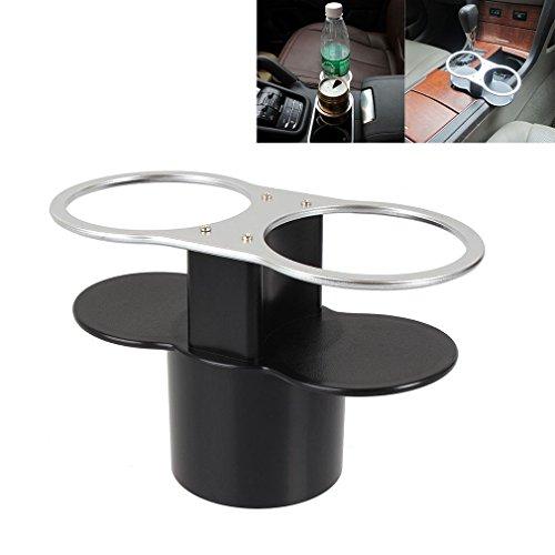Preisvergleich Produktbild Auto KFZ Getränkehalter Doppel Flaschenhalter Becherhalter Dosenhalter Kaffeehalter Cup Holder Universal für Audi BMW VW Auto PKW LKW Boot