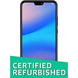 (Certified REFURBISHED) Huawei P20 Lite (Black)