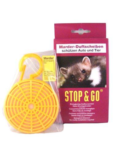 AD Anti-Marder-Duftkörbchen Duftkonzentrat auf Tierfettbasis. Riecht nach 'gefährlichem Feind'. Große Verdunstungsfläche für intensive Duftabgabe. Lange Wirksamkeit (mind. 6 Monate). Lasche mit Verfalldatum. Duftkörbchen Konzentrat