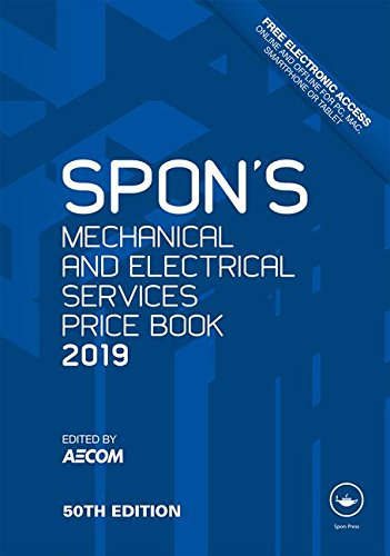 Spon's Mechanical & Electrical Services Price Book 2019 (Spon's Price Books)