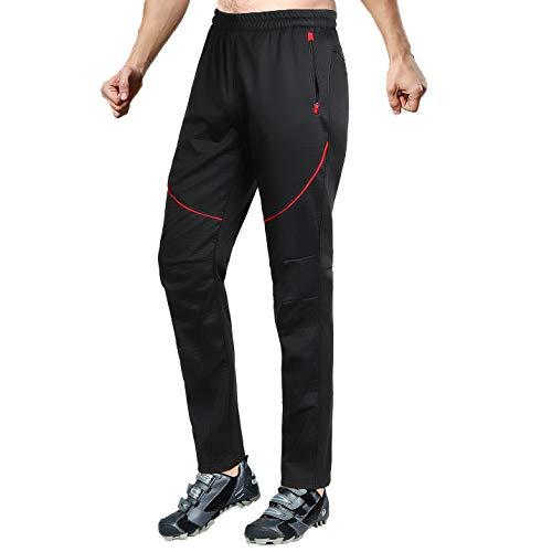 SKYSPER Pantalones Largos Hombre Ciclismo Invierno
