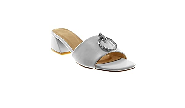 Angkorly Chaussure Mode Sandale Mule Slip on Femme Anneaux