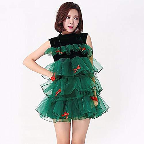 Kostüm Weihnachtsfeier - HJG Weihnachtsfeier Kostüm, Damen Blumenspitze Cocktail Party Swing Dress