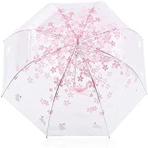 Rose Skyeye Sun Pluie Parapluie Pluie Outils Woman Fleurs Transparente Parapluie pour m/âle Femelle pour Femme Enfants Mariage Voyage f/ête