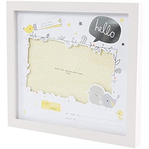 Una caratteristica Birdie Told Me Little Baby Photo Frame