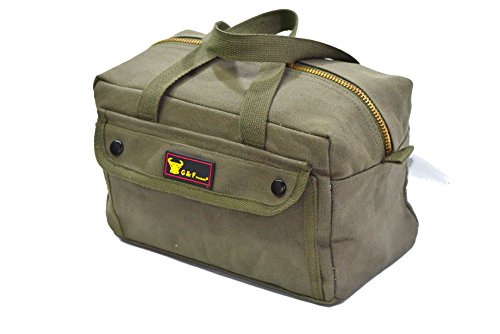 Rothco Mechanics Tool Bag, Olive Drab, O/S by Apparel Force (Rothco Grün)