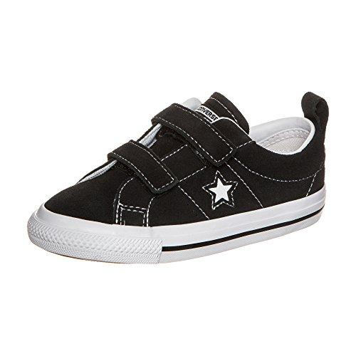 Converse Unisex Baby One Star 2V OX Sneaker schwarz, 20 EU