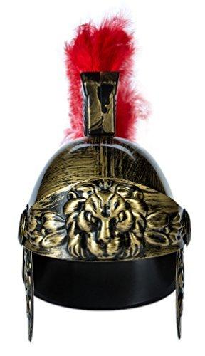 Preisvergleich Produktbild Känguru 's Roman Legion Gladiator Fahrradhelm Gold
