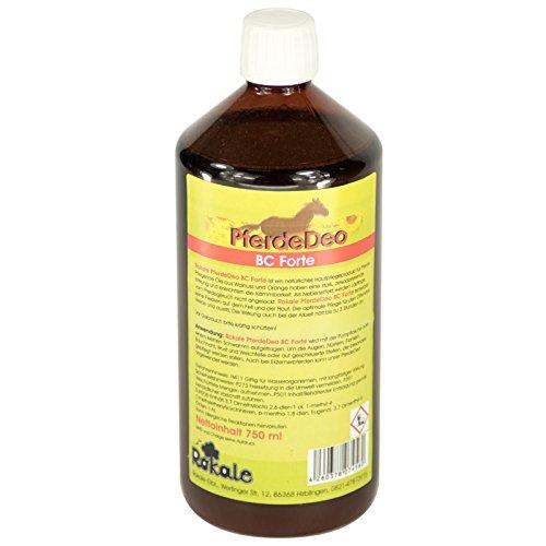 Rokale BremsenClean 750 ml - PferdeDeo BC Forte - Fliegen,- Kriebel- und Mückenschutz