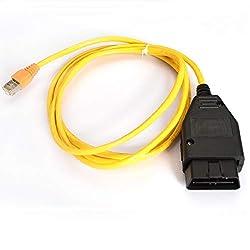 NiceCheck ENET OBD Kabel OBDII ESYS F-Serie Coding Ethernet OBD ENET RJ45 Kabel