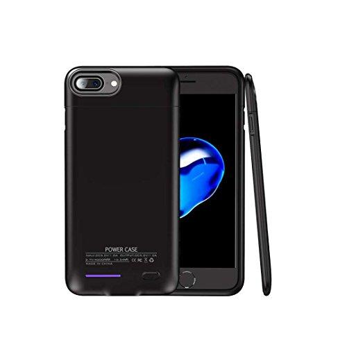 BATTERIA iPhone 8/7 custodia slim Supporto copertura di ricarica