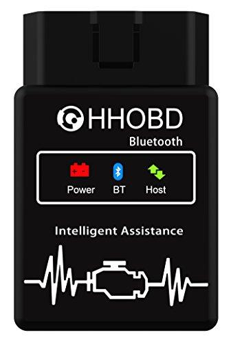 EXZA® HHOBD® Bluetooth Torque Android Diagnose CAN BUS Interface - Auto Car PKW KFZ OBD 2 Test
