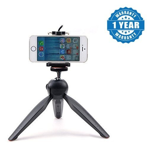 SCORIA® Mini Selfie Mobile Tripod With 360° Rotating Ball Head With Mobile Clip Compatible For Samsung Galaxy J7 Max
