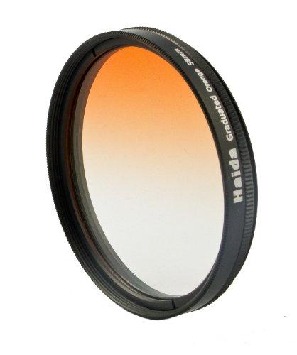 Orange Verlaufsfilter für Digitalkameras 55mm Filterdurchmesser