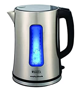 Morphy Richards Brita Electric Filter Kettle - Brushed Stainless Steel