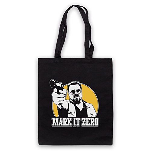 Inspiriert durch Big Lebowski Mark It Zero Inoffiziell Umhangetaschen Schwarz