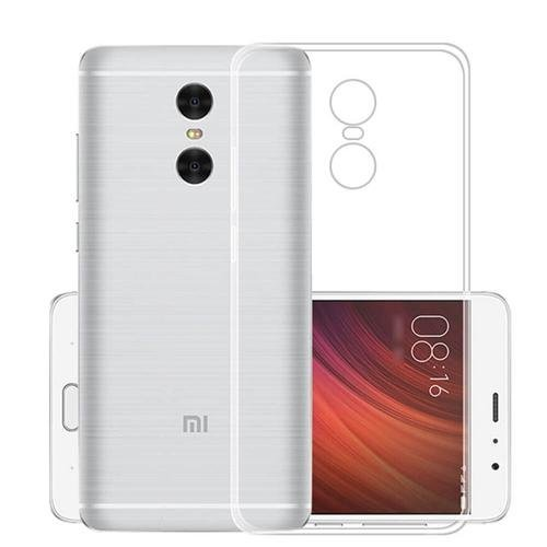 KAIRA Transparent Soft Ultra Slim Back Cover Case Xiaomi Redmi Note 4  available at amazon for Rs.99
