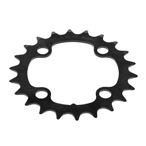 Sharplace 1 Stück Fahrrad Kettenblatt (Ohne Schrauben) 22, 32, 42, 44 Zähne, 4 Schrauben - 22T