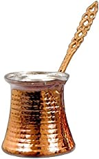 Urban Platter Traditional Copper Turkish Coffee Pot, Size: 2 Cups