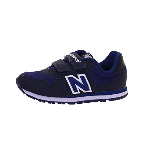 new-balance-blue-500-preschool-sports-shoe-made-of-synthetic-fabric-and-microfiber-with-velcro-closu