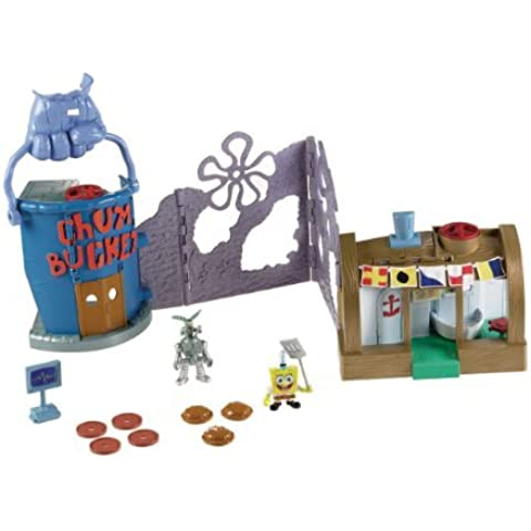 Fisher-Price Nickelodeon Imaginext Krusty Krab Playset by SpongeBob SquarePants