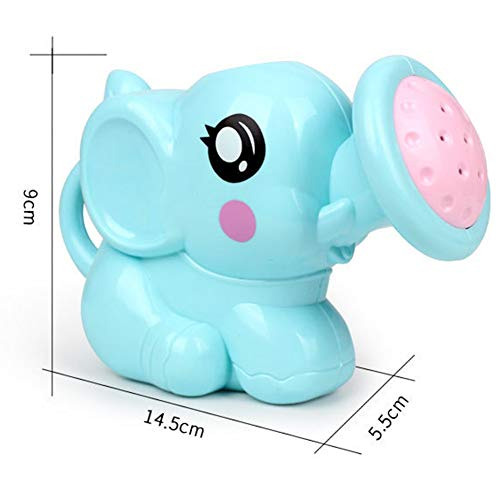 Zantec Jouet Enfants Créatif Bain Jardin Plage Forme éléphant Bleu