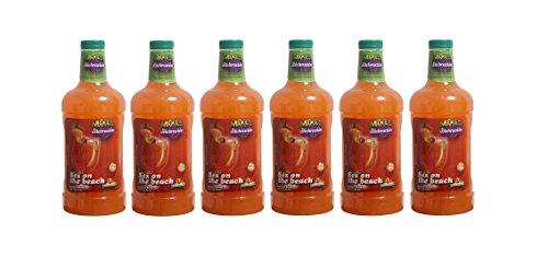 LA CELEBRACION - Coktail sans Alcool prêt à boire - SEX ON THE BEACH - Vendu par carton de 6 Bouteilles de 1,75 Litres.