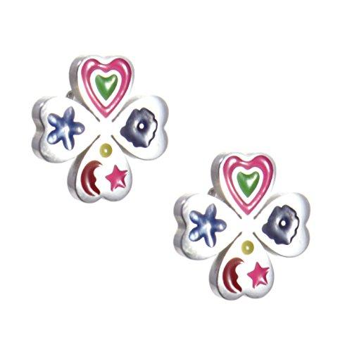 7928b7ed8291 TEMPUS FUGIT Geschenk für Mädchen und Jovencita Ohrringe aus Edelstahl